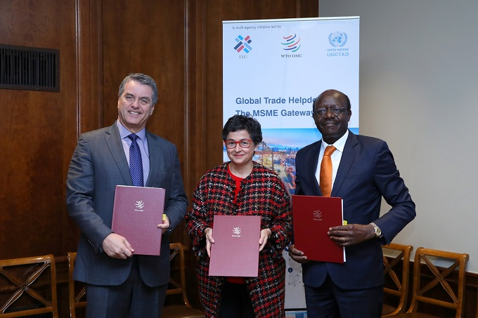 WTO, UNCTAD, ITC sign MoU to provide businesses with better access to trade data