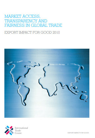 Market access, transparency and fairness in global trade
