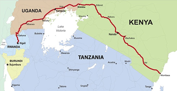 Reducing non-tariff barriers along East Africa's northern corridor