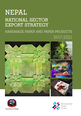 Nepal National Sector Export Strategy: Handmade Paper and Paper Products